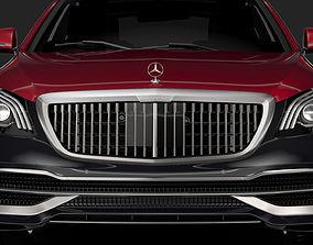 Mercedes Maybach S 560 4Matic X222 2019 3D