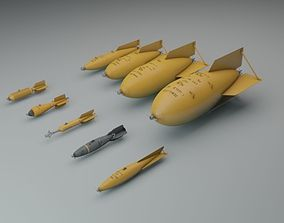 3D Early US Bombs 1915-1939