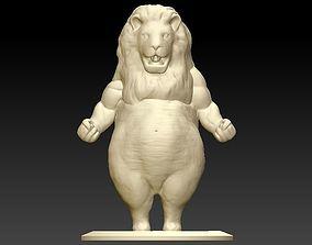Big Belly Lion 3D printable model
