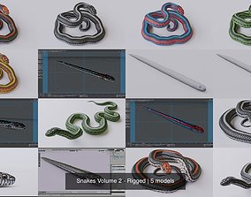 Snakes Volume 2 - Rigged 3D
