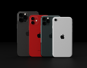 3D Ultimate Apple iPhone Collection Official Colors and
