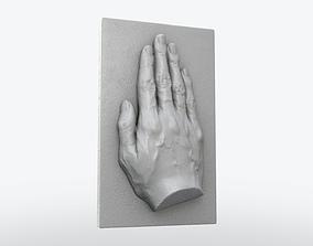 3D print model Hand Plate Decor