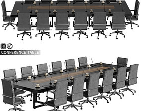 3D model conference table 07