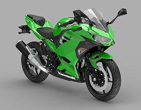3D model Kawasaki Ninja 400 2020