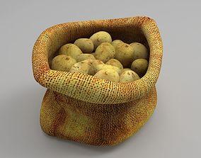 3D model Potato sack