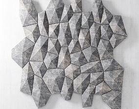 Panel decor tile 3D