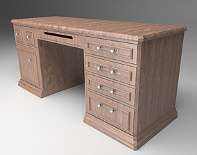 Office Desk interior 3D