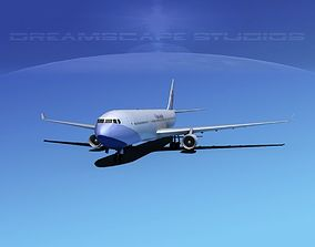 3D model Airbus A330-300 China Airlines
