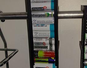 AA Battery Dispenser for ikea Grundtal 3D printable model