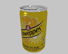 Can Schweppes 15cl 3D model