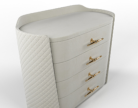 storage 3D model chest of drawers