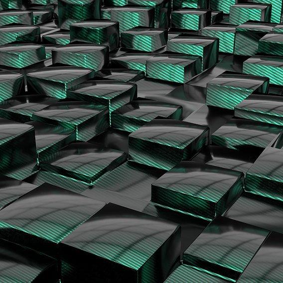 carbon cubes