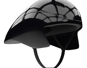 Time Trial Bicycle Helmet 3D