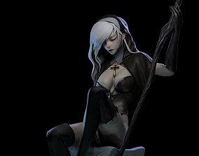 games Desire Nun 3D print model
