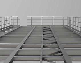 Steel Platform 3D model