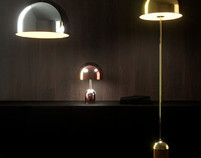 Tom Dixon Bell Lamp Collection 3D