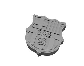 3D print model Barcelona Keychain