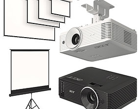Projector Acer with Screens Set 3D