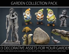 GARDEN COLLECTION PACK 3D asset