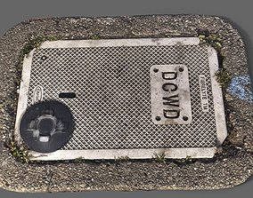sewage DCWD Utility Cover 3D