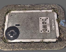 sewage DCWD Utility Cover 3D