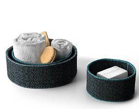 3D model Bath Accessories in Baskets