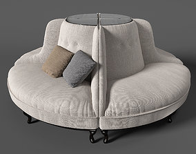 sofa for commercial places 3D