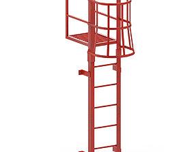 Escape Stair 3D asset