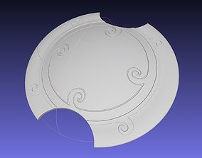 RWBY Pyrrha Nikos Shield Printable Assembly