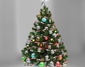 3D holiday Christmas tree