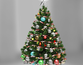 Christmas tree new 3D