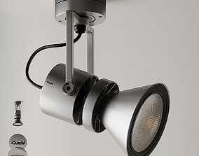 LE PERROQUET Spotlight by iGuzzini 3D