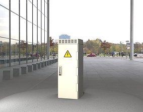3D asset Electrical Distribution Cabinet 17
