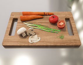 Vegetables 3D model