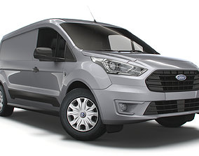 Ford Transit Connect Trend L2 UK spec 2020 3D