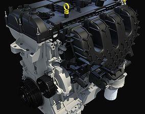 3D model Dark Cover Escape Engine