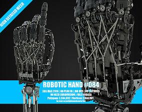 Robotic hand 084 3D model