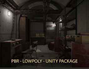 PBR Bunker - UNITY READY 3D asset