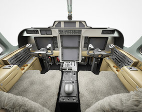3D model Aircraft Cockpit