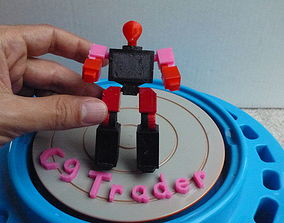 3D print model Radio Robot AAA