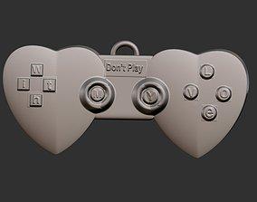 3D printable model Don t Play Pendant