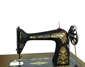 3D Singer Sewing Machine