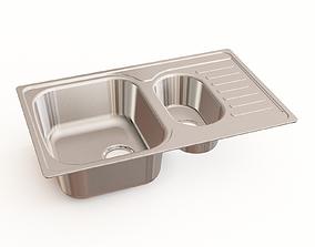 3D Kitchen sink 25