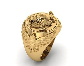 america ring 3D printable model
