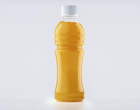 3D model Bottle Juice Splash