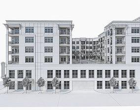 3D Apartment Complex 04