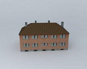 1950ies Small Building 3D model