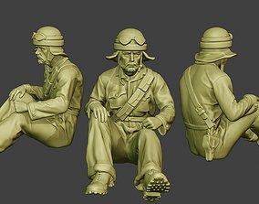 Italian Tank Crew Unit ww2 Sit3 ITCU1 3D print model