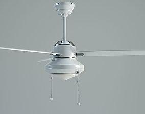 Hunter Merced Fan 3d Model