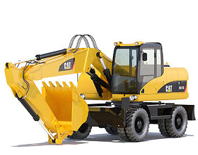 3D Wheel Excavator